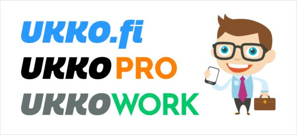 Ukko.fi, ukkopro, ukko Work logot