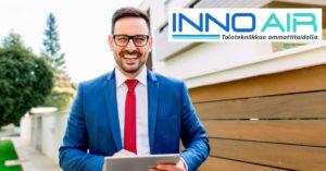 Myyntiassistentti asiakaskäynti InnoAir fb