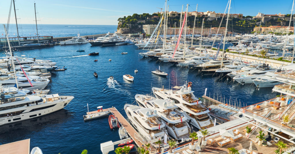 Monaco venemessut Boat Fair