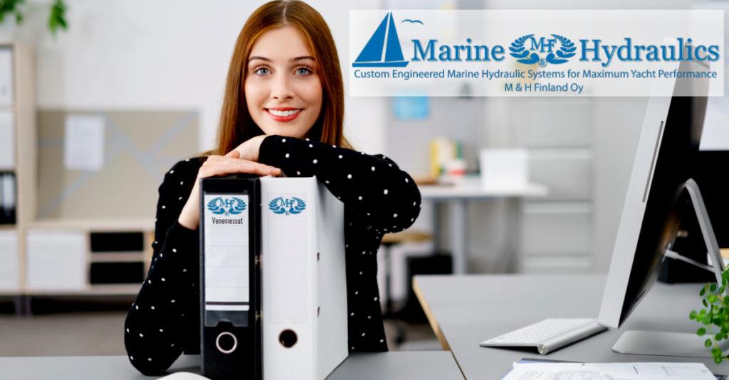 Toimistoassistentti marine and hydraulics
