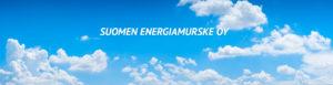 Suomen Energiamurske Oy Kansikuva Logolla