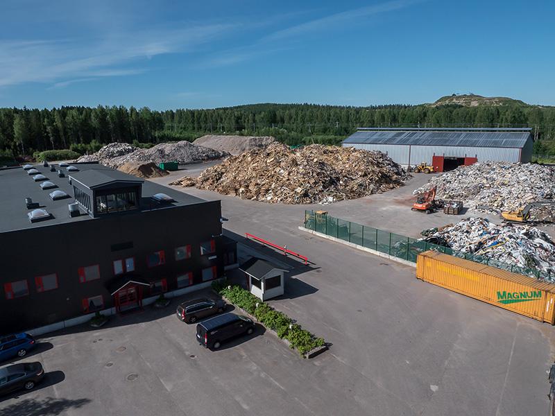 Suomen Energiamurske Oy Konttori ja Prosessointi