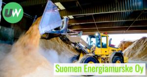 Tuotantotyöntekijä Suomen Energiamurske Oy Ukko Work